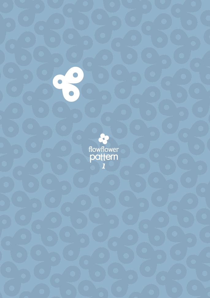 フロウフラワーパターン1