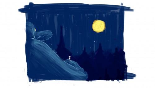 月夜の隣人