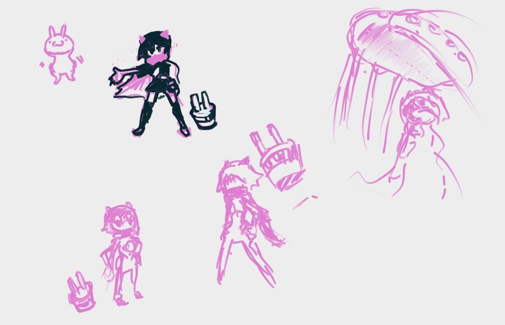 キャラクターのデザインパターン